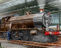 "LBSC Atlantic Express Locomotive ""Beachy Head"""