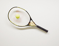 Tennis Ball Drawing Machine