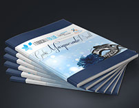Collateral design – A Touch of Blue