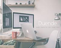 Duende design studio branding