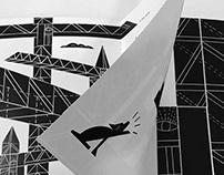 Book about construction crane