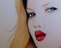 Drawing | Lindsey Wixson