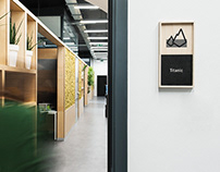 Wayfinding system / The Software House office