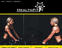 Fitness Email Template Design