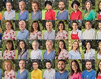 Retratos Staff de Vida Sana