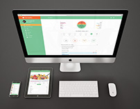 UX/UI for Healthy diet application