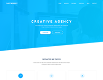 Dart Agency – PSD Template