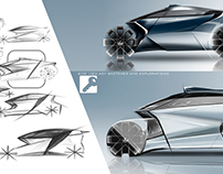 Lexus 3 Wheeled Revolution