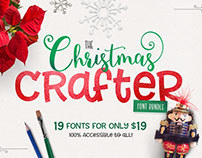 The Christmas Crafter Font Bundle
