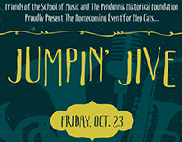 Jumpin' Jive Invitation