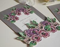 Wedding & bridal shower invitation