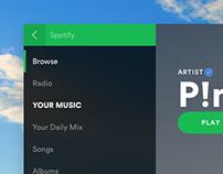 Spotify (Fluent Design)