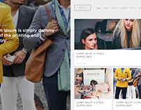 Custom Blog Page Design