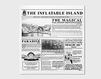 Inflatable Island Wax Paper