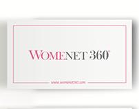 Womenet 360 - Naming, logo y papelería