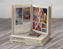 Art & Artists in South Africa | Book Design