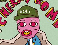 WOLF + CHERRY BOMB ALBUM COVER