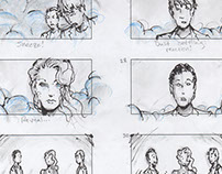 """Blue Eyes"" Storyboards (music video)"