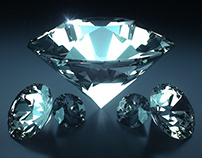 C4D Diamond [Fastest Way] - Cinema 4D Tutorial