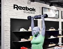 Reebok | shop-in-shop | Jelmoli, Zürich 2016