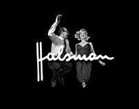 Philippe Halsman - micro website redesign