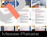 Messeplakate für ein Bauunternehmen