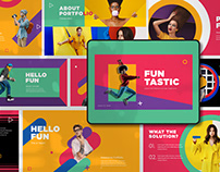 Fun Tastic Presentation Template