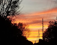 Sun down Down Hill