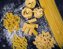Barilla pasta photo-shoot