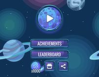 Space Game Art & UI