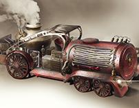 Steampunk Firefighter