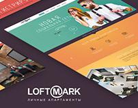 Landing Page Loft Mark - social network
