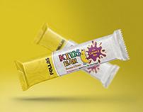 Fellas Kids Bar Package Design