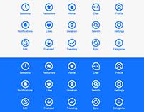 Minimal Icon Set - Free .AI