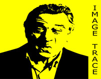 Image Trace with Robert De Niro
