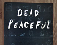'Dead Peaceful' - Illustrated Short Story Zine