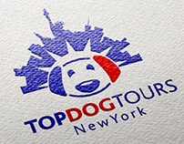 TopDogTours New Yourk // Logo and Branding Concept
