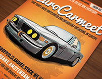 Oldtimer Car poster / flyer I