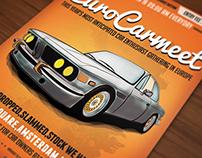Oldtimer Car poster / flyer I