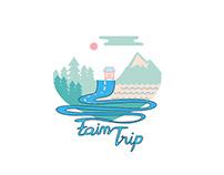 Fain Trip Logo Concept