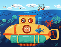 "Board game ""Bathyscaphe'"