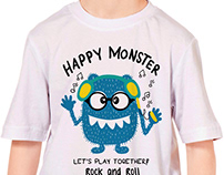 MONSTER GRAPHIC TEES