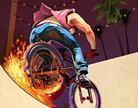 Toronto Bike Show-Rocket Man