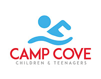 Camp Cove Logo Design