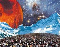 Layerscapes #1 : Mars headlines Woodstock