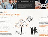 Web design 2011 - 2012