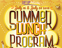 Lift Up Atlanta 'Summer lunch program'