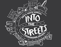 Into The Streets T-Shirt Design