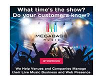 Megabase Online Ad Design