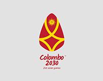 Colombo 2030 brand identity design